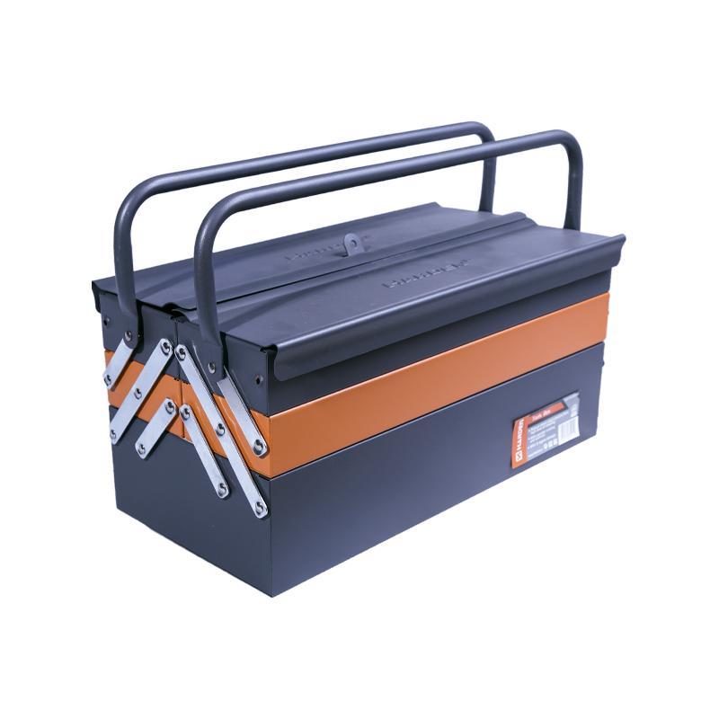 Caixa de ferramentas de metal profissional com cinco gavetas
