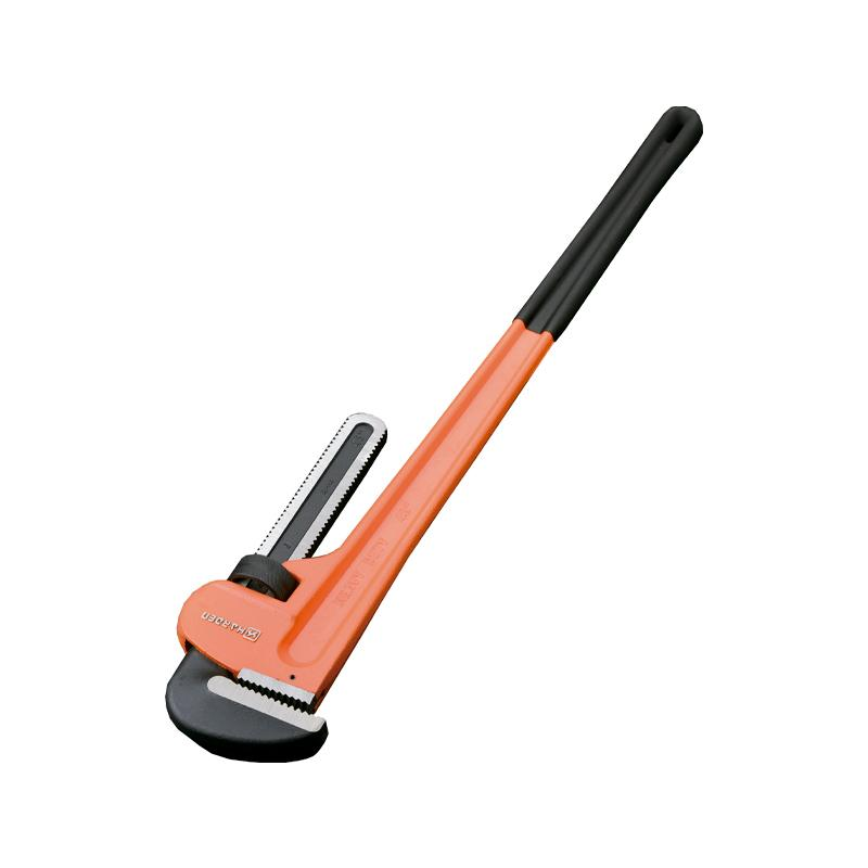 Chave de cano de vanádio de cromo profissional para trabalhos pesados