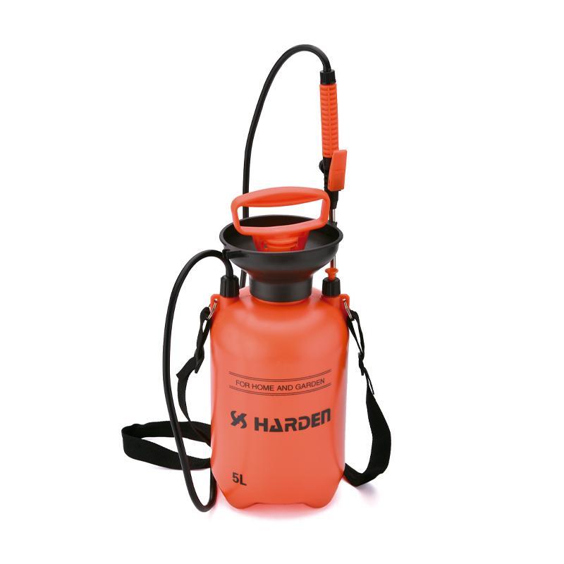 Pulverizador de pressão de 5L para uso doméstico e jardim